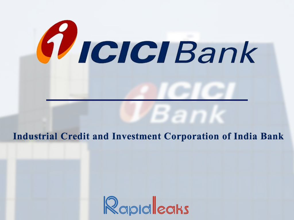 credit risk icici bank Dr nachiket mor (nachiketmor@icicibankcom) is chairman of the managing   entire rural credit and risk management system on a firm footing allowing it to.