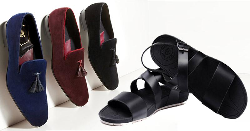 mens loafers and sandels